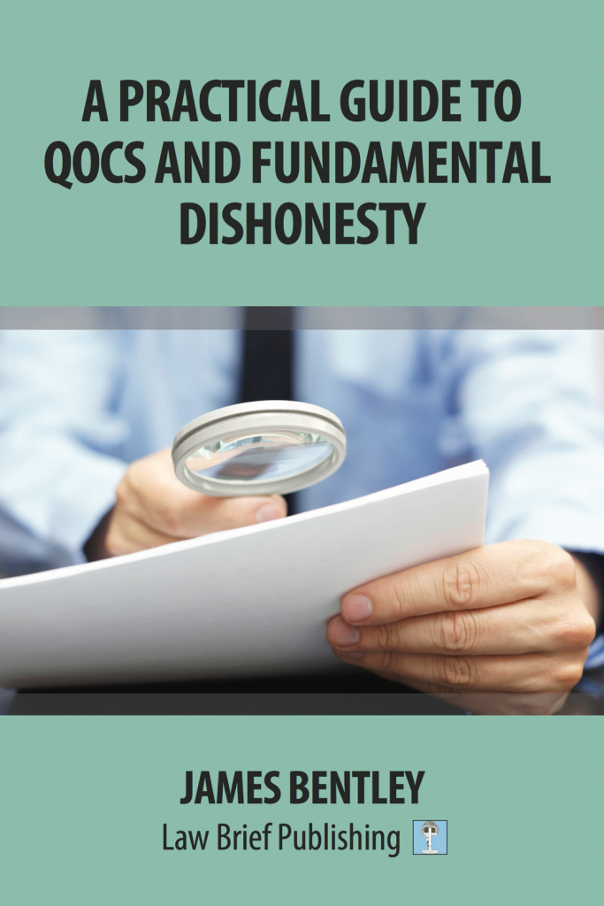 'A Practical Guide to QOCS and Fundamental Dishonesty' by James Bentley