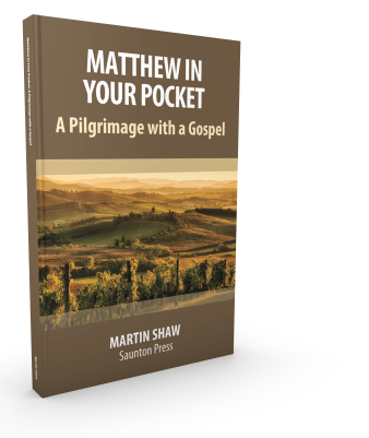 'Matthew in Your Pocket: A Pilgrimage with a Gospel' by Martin Shaw (10 units at author price)