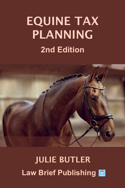 'Equine Tax Planning, 2nd Edition' by Julie Butler