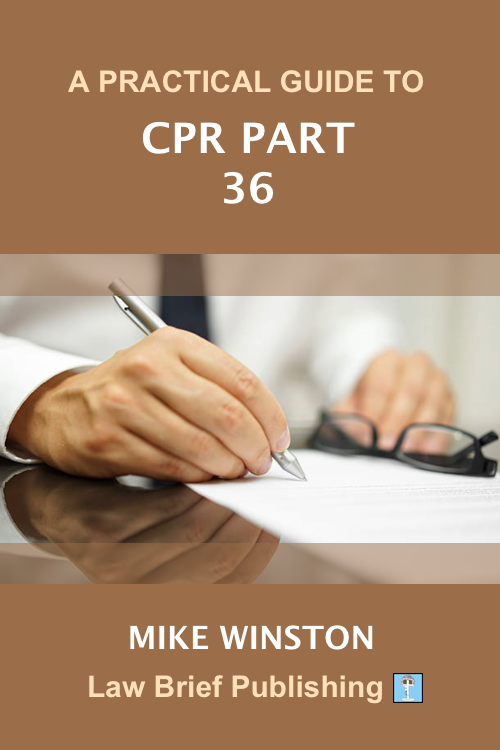 'A Practical Guide to CPR Part 36' by Mike Winston