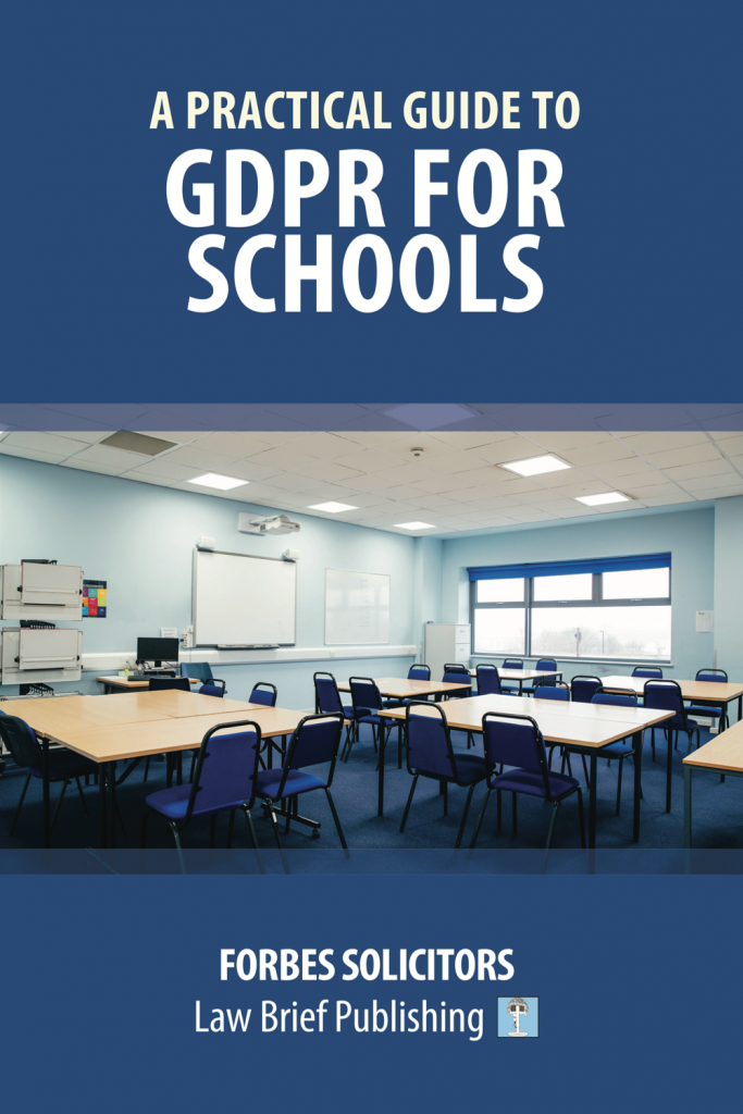 'A Practical Guide to GDPR for Schools' by Forbes Solicitors