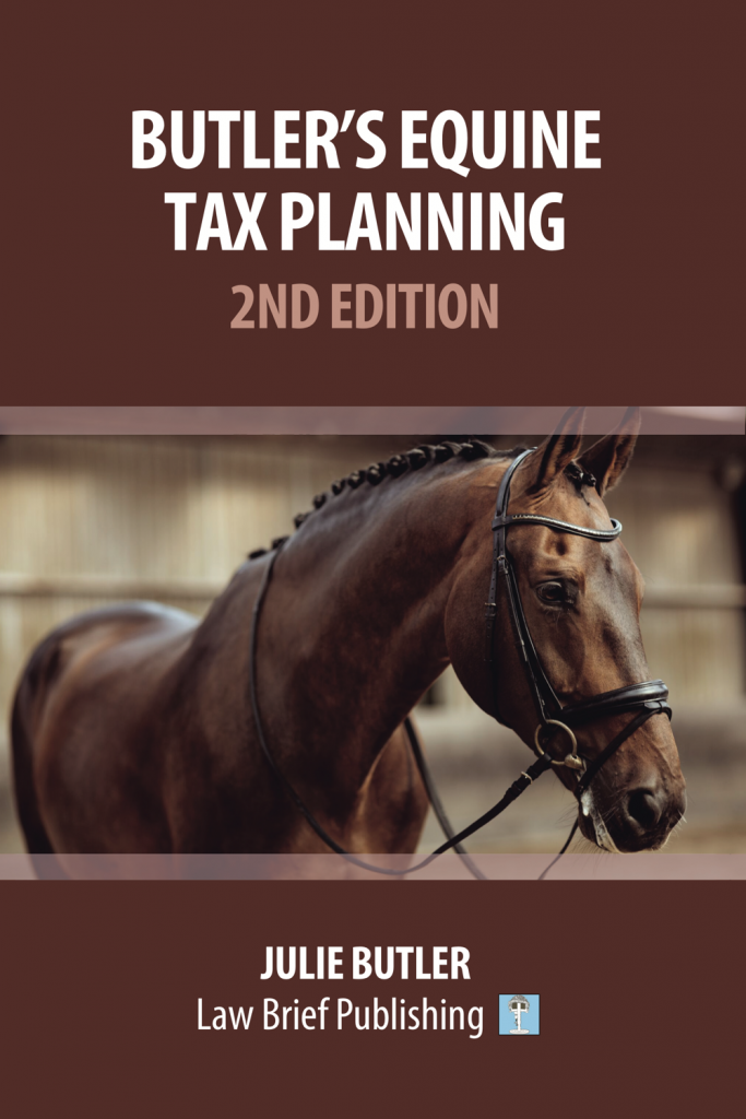 'Butler's Equine Tax Planning: 2nd Edition' by Julie Butler